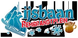 Logo IJsbaan Rembrandtplein Amsterdam 2019-2020